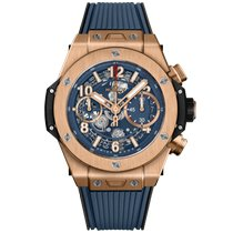 Hublot Red gold Automatic Blue 42mm new Big Bang Unico