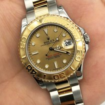 Rolex Yacht-Master 168623 Good Gold/Steel 35mm Automatic UAE, Abu Dhabi