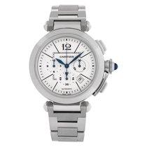 Cartier Pasha neu Automatik Chronograph Nur Uhr W31085M7