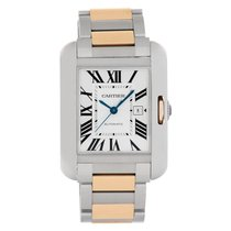 Cartier Tank Anglaise 30mm Argent Romains