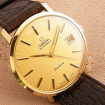Omega Yellow gold 34mm Automatic Geneve 14K Gold pre-owned