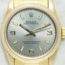 Rolex Oyster Perpetual 31 Oro giallo 31mm Argento Arabi Italia, Pieve Di Cento BOLOGNA