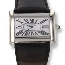 Cartier Tank Divan Steel 38mm Mother of pearl Roman numerals United States of America, New Hampshire, Nashua