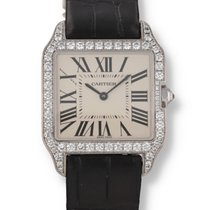 Cartier Santos Dumont White gold 30mm Silver United States of America, New Hampshire, Nashua