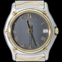 Ebel Classic Gold/Steel 28mm Grey Roman numerals