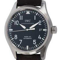 IWC Pilot Mark Steel 39mm Black Arabic numerals United States of America, Texas, Austin