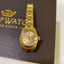 Philip Watch Yellow gold Automatic Gold No numerals 25mm pre-owned Caribe