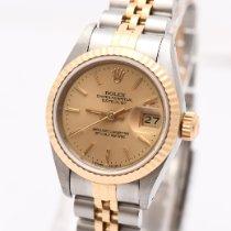 Rolex Lady-Datejust Gold/Stahl 26mm Champagnerfarben Keine Ziffern Deutschland, Hamburg