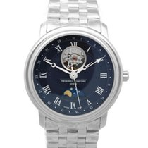 Frederique Constant Classics Moonphase Steel 40mm Blue