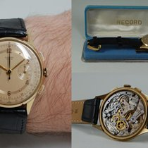 Record Yellow gold Manual winding Gold 36mm pre-owned
