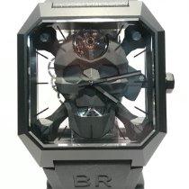 Bell & Ross BR 01 Cerámica 46.5mm Transparente