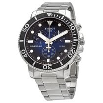 Tissot Seastar 1000 neu 2021 Quarz Chronograph Uhr mit Original-Box und Original-Papieren T120.417.11.041.01