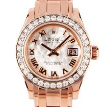 Rolex Lady-Datejust Pearlmaster Rose gold 29mm Mother of pearl United Kingdom, London