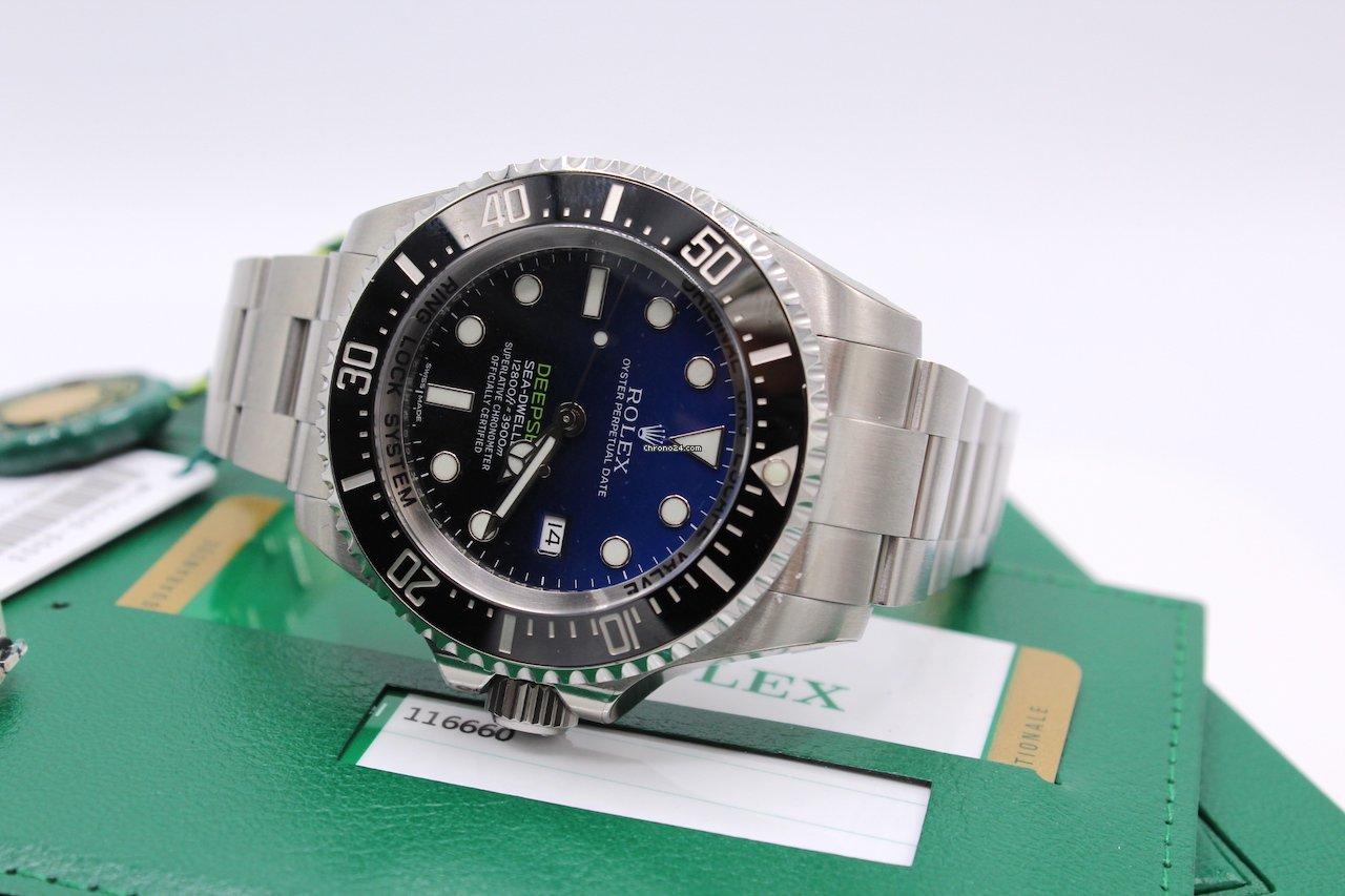 Rolex Sea-Dweller Deepsea 116660 2017 new