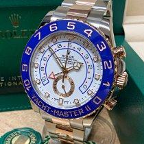 Rolex Yacht-Master II Gold/Steel 44mm White No numerals United Kingdom, Wilmslow