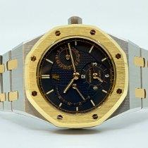 Audemars Piguet Royal Oak Dual Time Acero y oro Champán