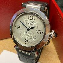 Cartier Pasha neu 2020 Automatik Uhr mit Original-Box und Original-Papieren WSPA0010