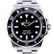 Rolex Submariner (No Date) neu 2020 Automatik Uhr mit Original-Box und Original-Papieren 124060