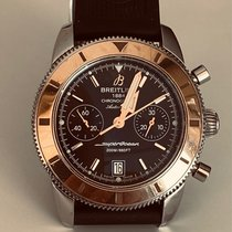 Breitling Superocean Heritage Chronograph Gold/Steel 44mm Black
