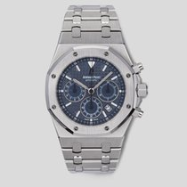 Audemars Piguet Royal Oak Chronograph Steel 39mm Blue United States of America, New York, New York
