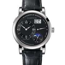 A. Lange & Söhne Lange 1 White gold 38.5mm Black Roman numerals United States of America, New York, New York