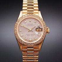 Rolex Lady-Datejust Yellow gold 26mm Grey No numerals United Kingdom, Scarborough
