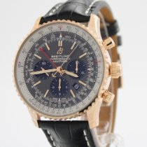 Breitling Navitimer Rattrapante Red gold 45mm Grey