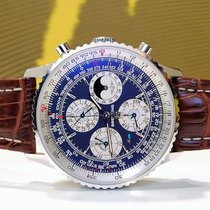 Breitling White gold Automatic pre-owned Navitimer World
