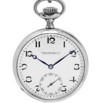 Patek Philippe Reloj usados Plata 48mm Cuerda manual Solo el reloj