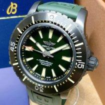 Breitling Titanium Automatic Green No numerals 48mm new Superocean