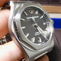 Girard Perregaux Steel Automatic Grey 38mm pre-owned Laureato