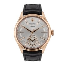 Rolex Cellini Dual Time 50525 Unworn Rose gold 39mm Automatic United Kingdom, Macclesfield
