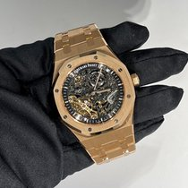 Audemars Piguet Royal Oak Double Balance Wheel Openworked 15407OR.OO.1220OR.01 Unworn Rose gold 41mm Automatic United States of America, Florida, Miami