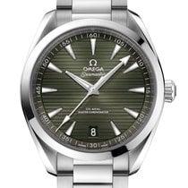 Omega Seamaster Aqua Terra Steel 41mm Green No numerals United Kingdom, London