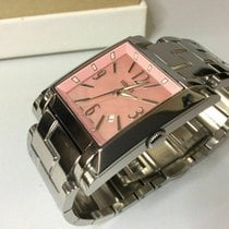 Versace new Quartz Central seconds 34mmmm Steel