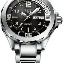 Ball Engineer Master II Diver Acero 42mm Negro
