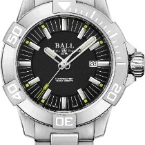 Ball Engineer Hydrocarbon Deepquest DM3002A-SC-BK Novo Titânio 42mm Automático