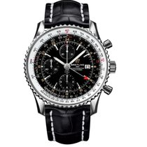 Breitling Navitimer GMT Steel 46mm Black United States of America, Iowa, Des Moines