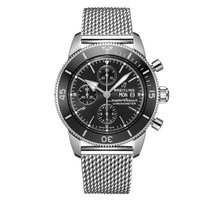 Breitling Superocean Heritage Steel 44mm Black No numerals United States of America, Iowa, Des Moines