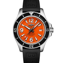 Breitling Superocean 42 Steel 42mm Orange Arabic numerals United States of America, Iowa, Des Moines