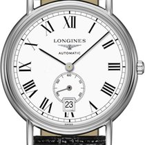Longines Présence Steel 38.5mm White United States of America, Iowa, Des Moines