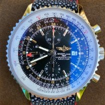 Breitling Navitimer World Steel 46mm Black United States of America, Texas, Plano