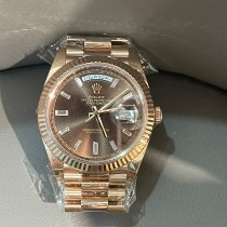 Rolex 228235 Rose gold 2020 Day-Date 40 40mm pre-owned
