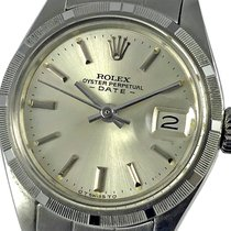 Rolex Oyster Perpetual Lady Date Сталь 26mm Cеребро Без цифр