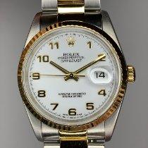 Rolex 16233 Gold/Steel 2002 Datejust 36mm pre-owned United Kingdom, Dartford