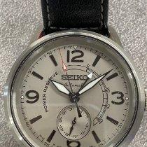 Seiko Presage Steel 42mm Silver Arabic numerals