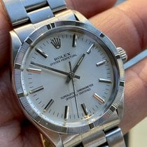 Rolex Oyster Perpetual pre-owned 34mm Silver Steel