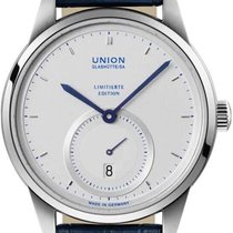 Union Glashütte 1893 Small Second Steel Silver