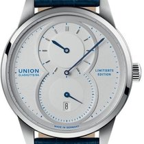 Union Glashütte 1893 Regulator Steel Silver