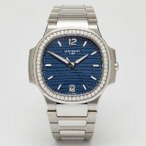 Patek Philippe Nautilus Acero 35.2mm Azul